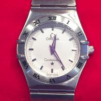 2005 ladies omega constellation  in steel