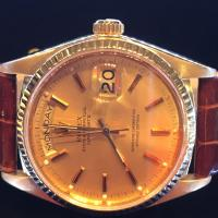 18038 Rolex 18ct yellow gold Day Date on Leather S