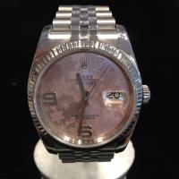 116234 Rolex Oyster Perpetual Datejust pink floral