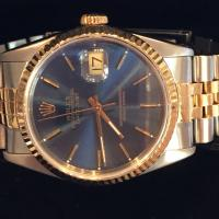 16233 Rolex steel and gold oyster perpetual dateju
