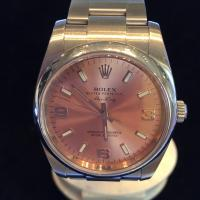 114200 Rolex Oyster Perpetual Air King Salmon dial