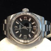 Rolex oyster perpetual non date stainless steel 176200 26mm case oyster bracelet.